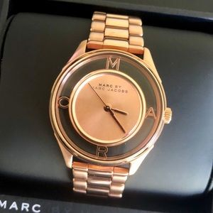 Women's Marc by Marc Jacobs Rose Gold-Tone Watch